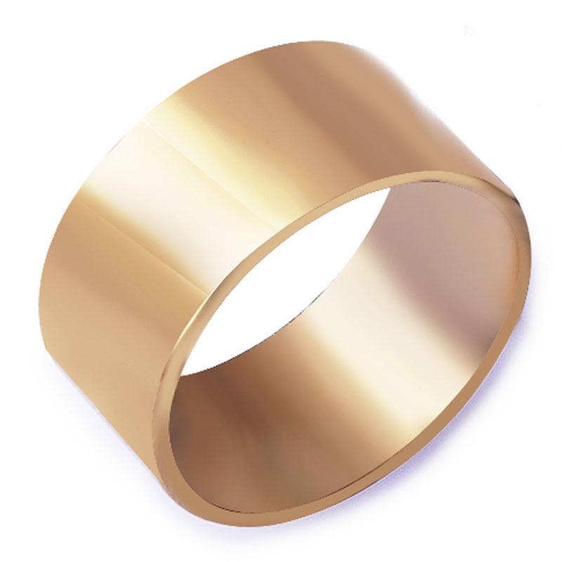 טבעת נישואין לגבר גולדפילד 18 קרט מידה: 10