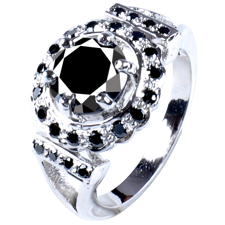 טבעת כסף 925 בשיבוץ אבני מואסנייט הטבעת: 4.55 קרט מידה: 8