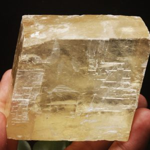 קלציט זהב גלם גדול משקל: 424 גרם