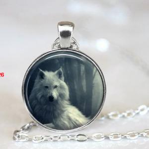 תכשיט תליון ושרשרת ויקה מוכסף סמל זאב