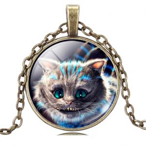 תליון ושרשרת ברונזה ויקה חתול... מלווה המכשפה