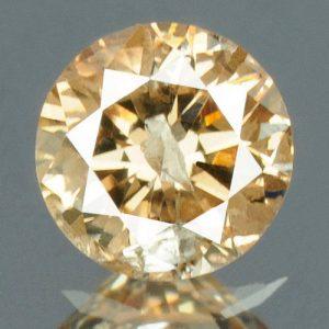 יהלום טבעי צהוב פנסי 0.16 קרט - תעודה ניקיון : I2