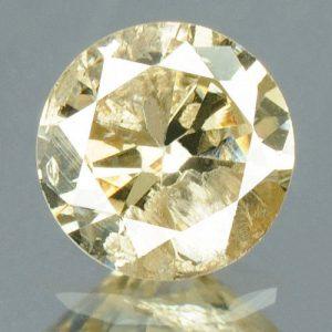יהלום צהבהב פנסי + תעודה 0.18 קרט ניקיון : I3