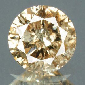 יהלום טבעי צהוב פנסי 0.26 קרט - תעודה ניקיון יהלום: I3