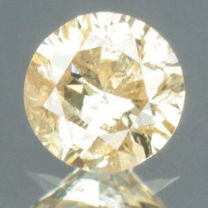 יהלום טבעי צהוב פנסי 0.13 קרט - תעודה ניקיון יהלום: I2