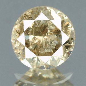 יהלום טבעי צהוב פנסי 0.19 קרט - תעודה ניקיון יהלום: I3