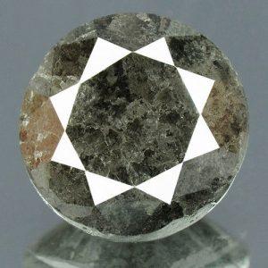 יהלום שחור פנסי + תעודה 1.49 קרט ניקיון: I3