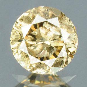 יהלום טבעי צהוב פנסי 0.16 קרט - תעודה ניקיון יהלום: I3