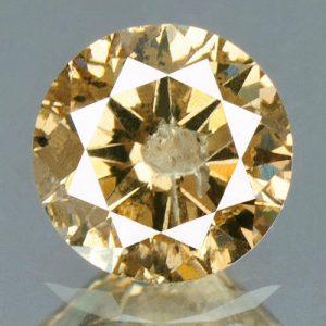 יהלום טבעי צהוב פנסי 0.31 קרט - תעודה ניקיון יהלום: I3