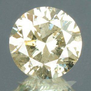 יהלום צהוב פנסי 0.27 קרט + תעודה ניקיון יהלום: I2