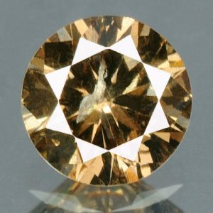 יהלום טבעי צהוב חום פנסי 0.22 קרט - תעודה ניקיון יהלום: I1