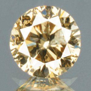 יהלום צהוב פנסי 0.15 קרט + תעודה ניקיון יהלום: I1