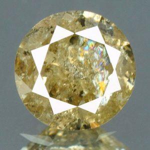 יהלום צהבהב פנסי + תעודה 0.18 קרט ניקיון:I3