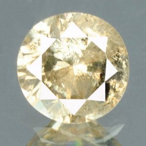 יהלום טבעי צהוב פנסי 0.18 קרט - תעודה ניקיון יהלום: I3