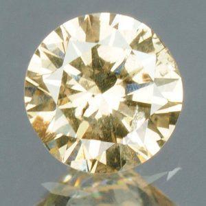 יהלום טבעי צהוב פנסי 0.17 קרט - תעודה ניקיון : SI3