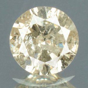 יהלום טבעי צהוב פנסי 0.19 קרט - תעודה ניקיון : I3