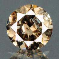 יהלום צהוב חום פנסי 0.23 קרט - תעודה ניקיון יהלום: I2