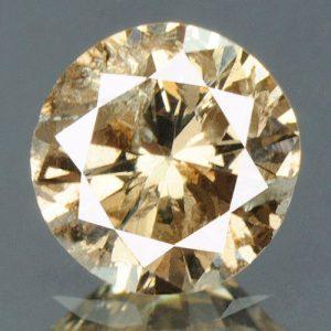יהלום צהוב פנסי 0.31 קרט + תעודה ניקיון יהלום: I2