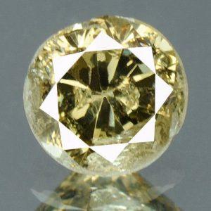 יהלום צהוב פנסי 0.19 קרט + תעודה ניקיון יהלום: I3