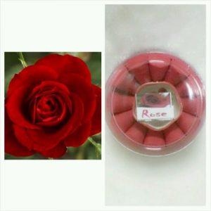 קטורת 24 יחידות ורד + מתקן לקטורת