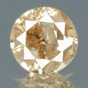 יהלום צהוב פנסי 0.18 קרט + תעודה ניקיון יהלום: I2