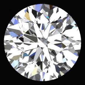 יהלום לבן עגול אפריקה + תעודה משקל: 0.031 קרט ניקיון: VVS1-VVS2