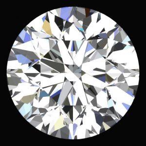 יהלום לבן עגול אפריקה + תעודה משקל: 0.042 קרט ניקיון: VVS1-VVS2