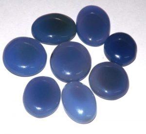 קלצידוני כחול מלוטש לשיבוץ (אפריקה) ליטוש קבושון במידה: כ 13 קרט