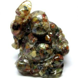 אופל מעורב צבעים מפוסל בתבנית עבודת יד (אפריקה) פיסול מאהא קצ'אינה במשקל: 469 קרט