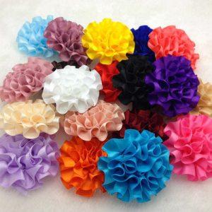 10 פרחים לקישוט אריזה מעורב בצבעים שונים