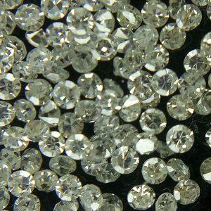 """50 יהלומים לשיבוץ ליטוש עגול בקוטר: 0.70 מ""""מ ניקיון: i צבע: f"""