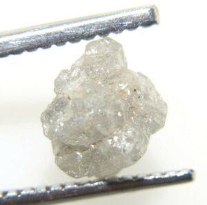 יהלום גלם אפרפר לליטוש במשקל: 1.73 קרט ניקיון: i3