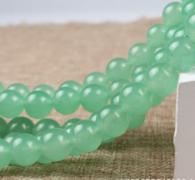 """תכשיטנות: שרשרת אוונטורין ירוק במידה: 4 מ""""מ"""