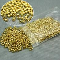 תכשיטנות: חרוזי זהב צהוב כמות: 180 יחידות