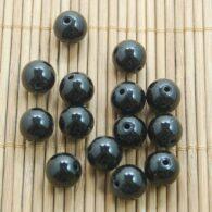"""אגט שחור 30 יחידות במידה: 6 מ""""מ"""